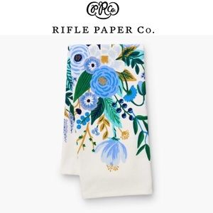 Rifle Paper Co Blue Garden Party Tea Towel